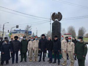 Аллею имени Алексея Скурлатова открыли в Барнауле в День Героев Отечества