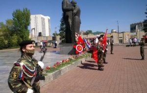 В Барнауле состоялось праздничное мероприятие, посвящённое 45-летию Барнаульскому Посту №1