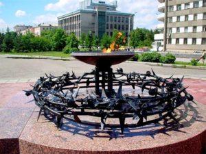 В Барнауле отметили 30-летие создания мемориала ПАМЯТИ «Воинам-интернационалистам»