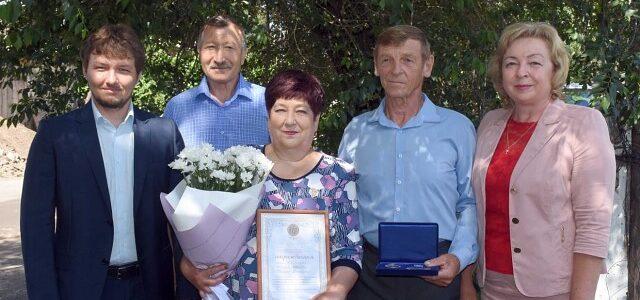 В Алейске наградили  ветерана-Афганца и его супругу медалью  «За любовь и верность»