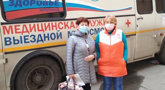 В Алтайском крае в рамках месячника пожилого человека более 100 инвалидов и ветеранов боевых действий прошли медосмотр