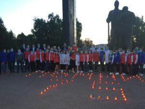 В краевой столице зажгли свечи в память о начале Великой Отечественной Войны