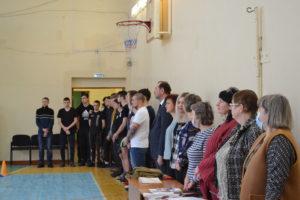 В техникуме прошли конкурсные программы, посвященная Дню защитника Отечества «Буду Родине служить!»