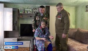 Родители алтайских солдат, погибших при исполнении служебного долга, получили подарки