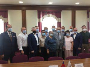 В Общественной палате Алтайского края прошла рабочая встреча актива ветеранских организаций  с В.А. Шамановым